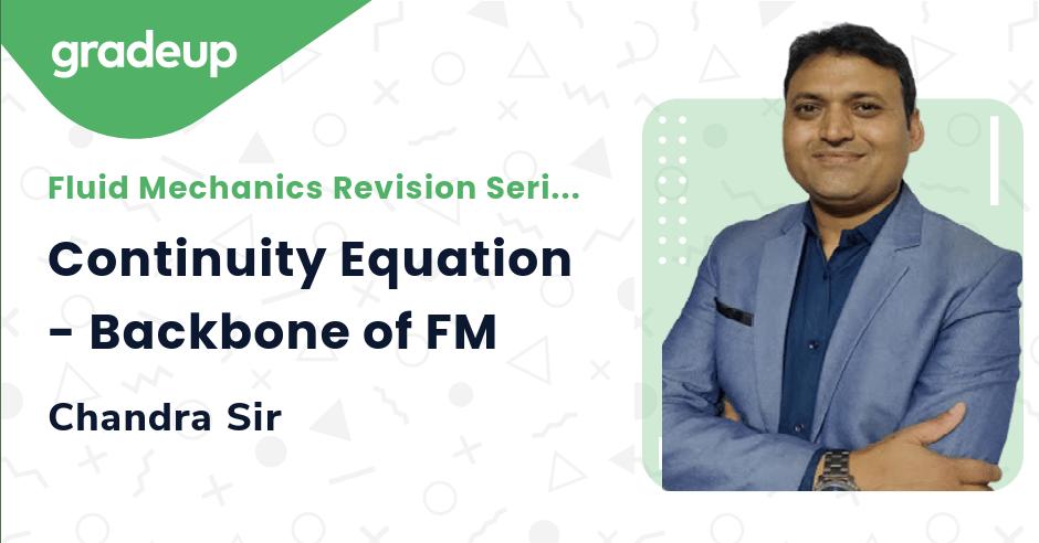 Class: Continuity Equation - Backbone of FM
