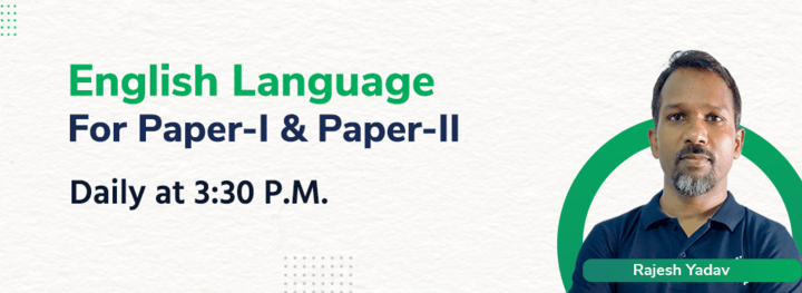 English Language  For Paper-I & Paper-II