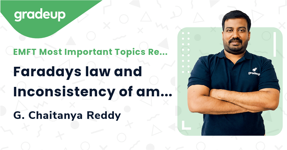 Class: Faradays law and Inconsistency of amperes law