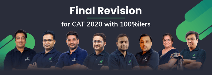 Final Revision for CAT 2020 with 100%ilers