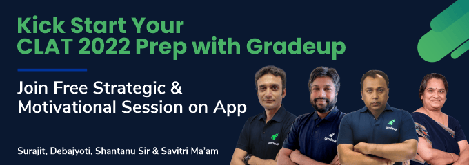 Kick Start Your CLAT 2022 Preparation with Gradeup