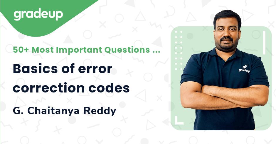 Basics of error correction codes