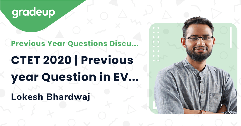 CTET 2020 | Previous year Question in EVS | Part 1
