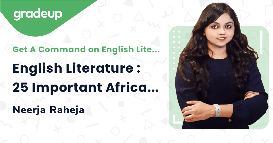 English Literature : 25 Important African Writers