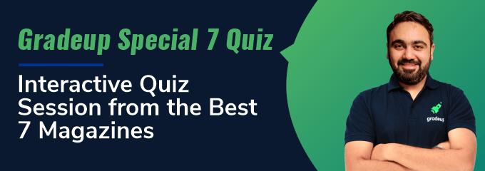 Gradeup Special 7 Quiz