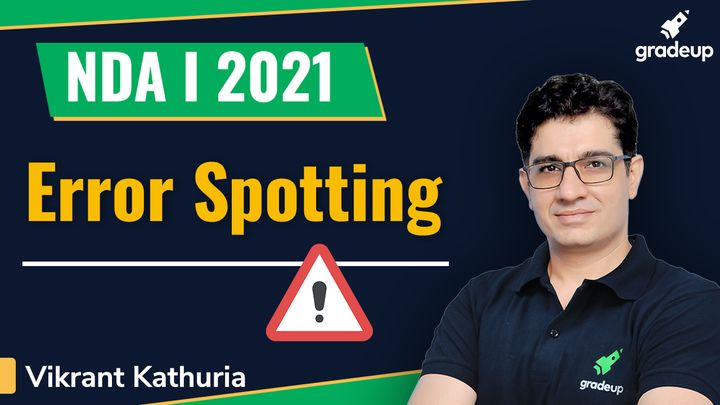 Error Spotting for NDA 1 2021