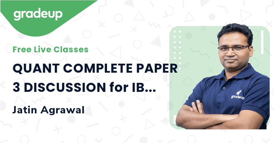 QUANT COMPLETE PAPER 3 DISCUSSION for IBPS CLERK EXAM 2020 | Quant | Jatin Agrawal