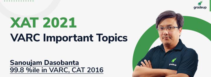Crack XAT 2021: VARC Important Topics