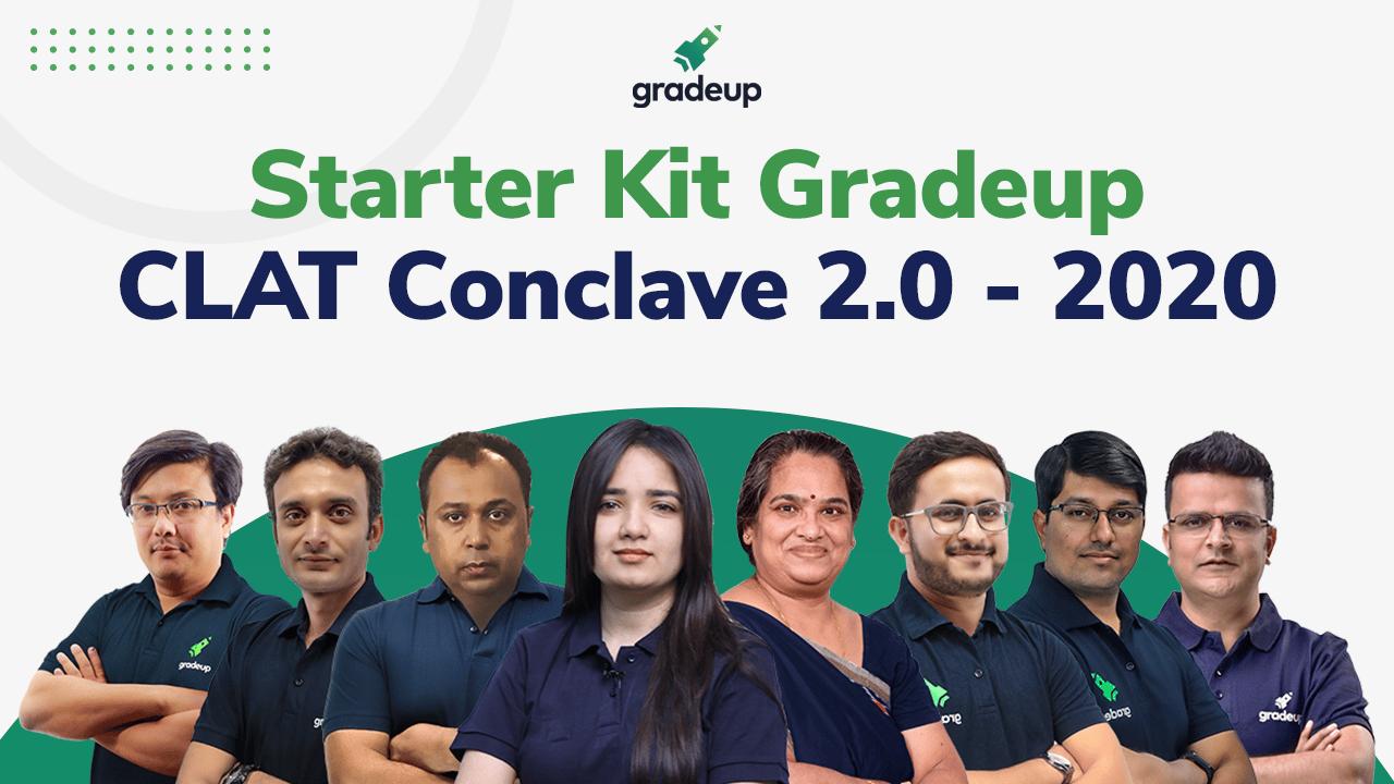 Starter Kit Gradeup CLAT Conclave 2.0