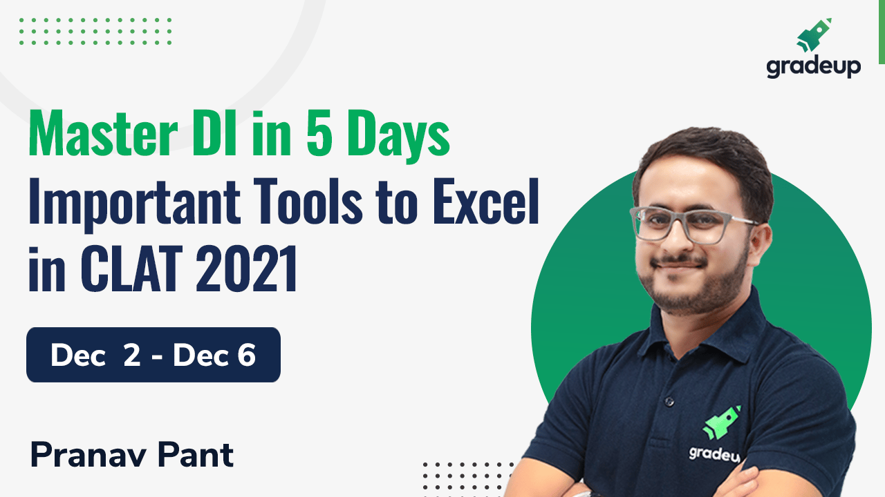 Master DI in 5 Days: Important Tools to Excel in CLAT 2021