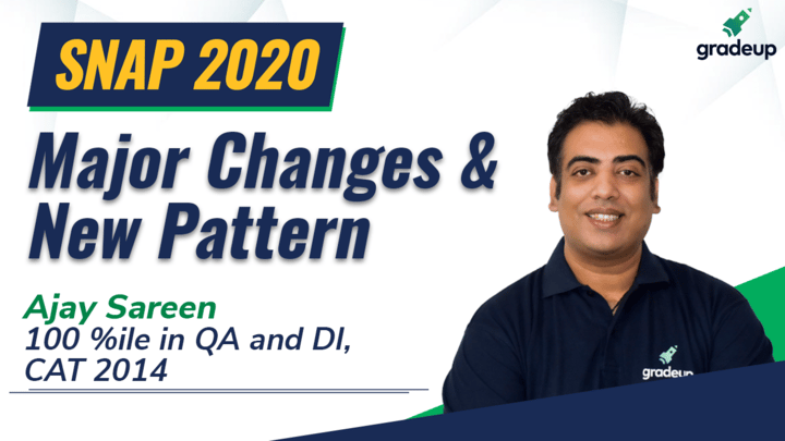 SNAP 2020 Exam: Major Changes & New Pattern