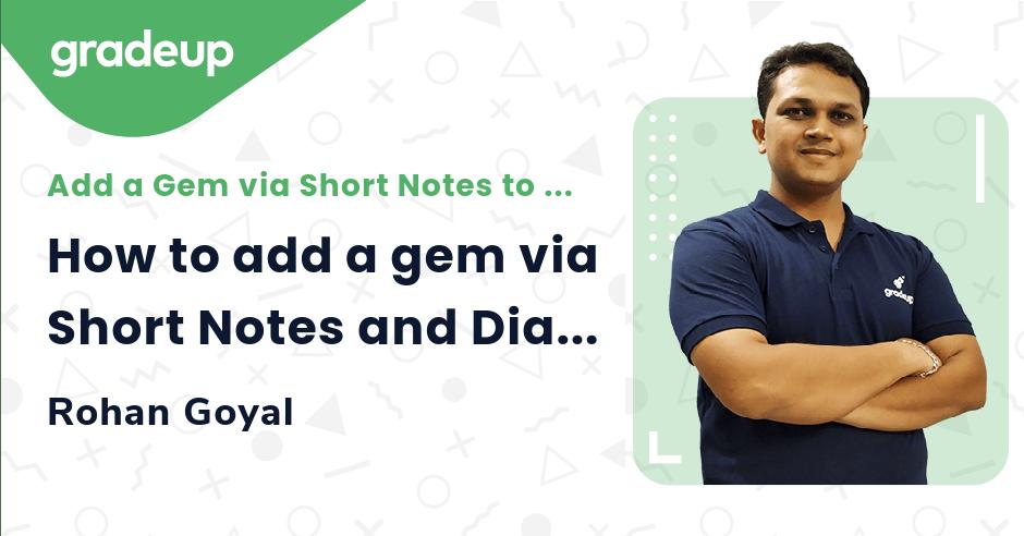 How to add a gem via Short Notes and Diamonds via Micro Notes.