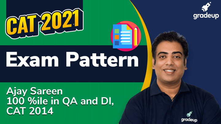 What will be exam pattern for CAT 2021?