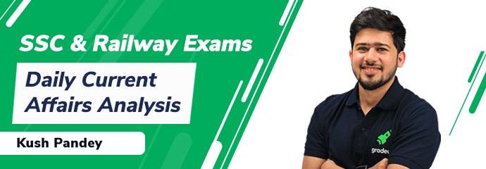 Daily Current Affairs for SSC & Railway Exams