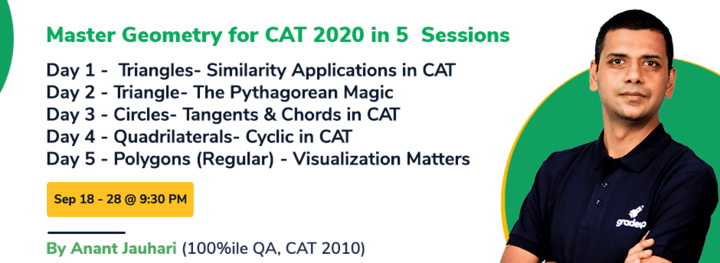 Master Geometry for CAT 2020 in 5 Sessions