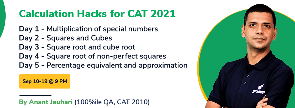 Calculation Hacks for CAT 2021