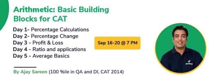 Arithmetic: Basic Building Blocks for CAT 2021