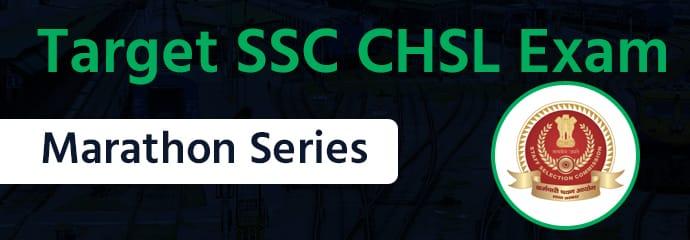 Target SSC CHSL: Marathon Series