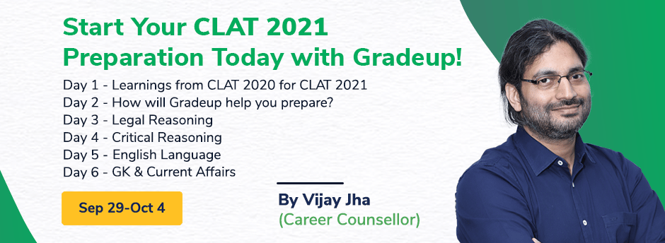Start CLAT 2021 Preparation today! Part - 2