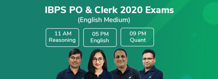 IBPS Clerk 2020 Exams