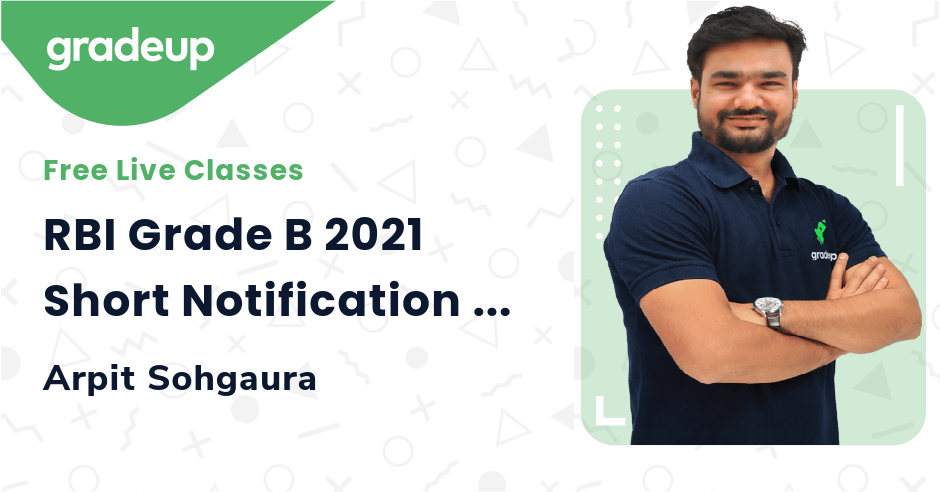 RBI Grade B 2021 Short Notification | Gradeup's Prediction Again Comes True