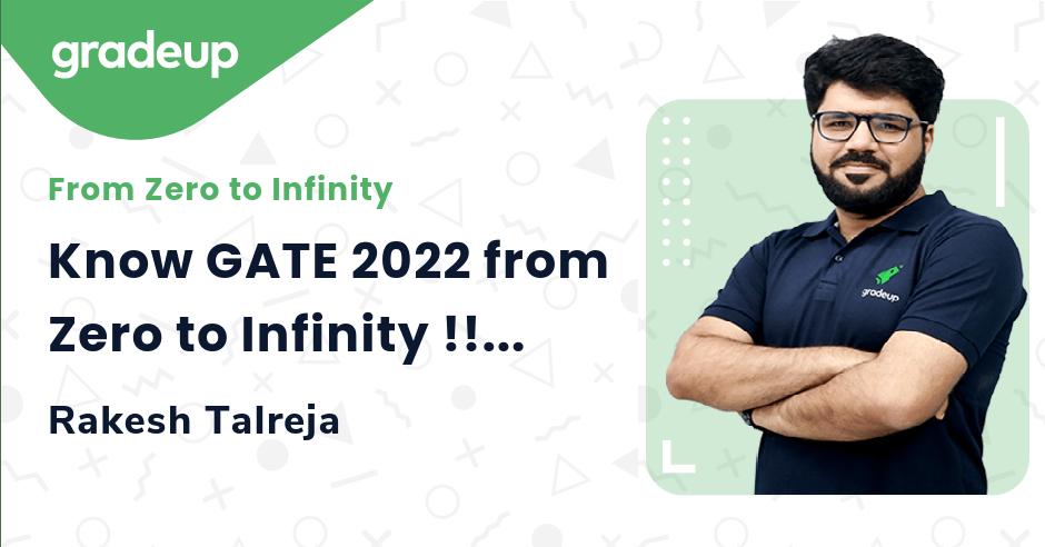 Know GATE 2022 from Zero to Infinity !!!!
