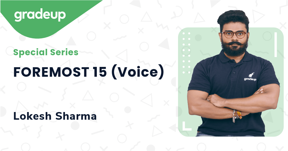 FOREMOST 15 (Voice)