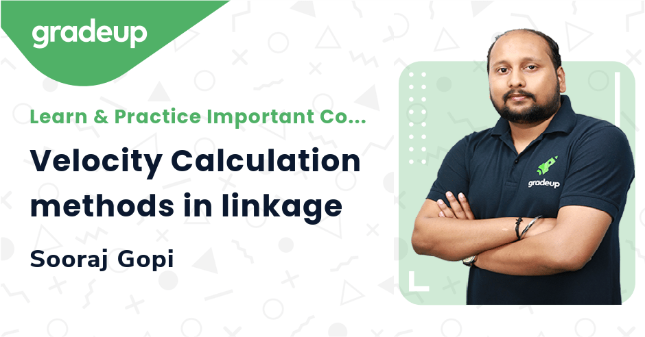Velocity Calculation methods in linkage