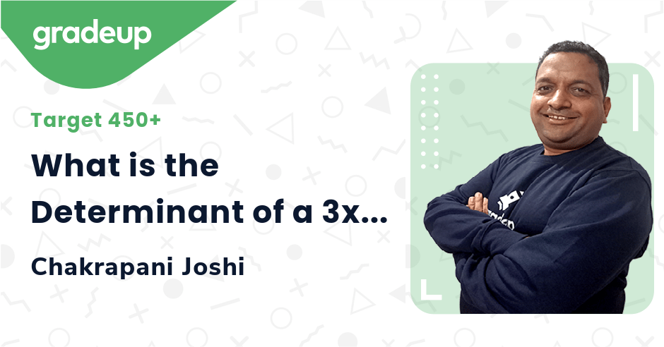 What is the Determinant of a 3x3 Matrix?