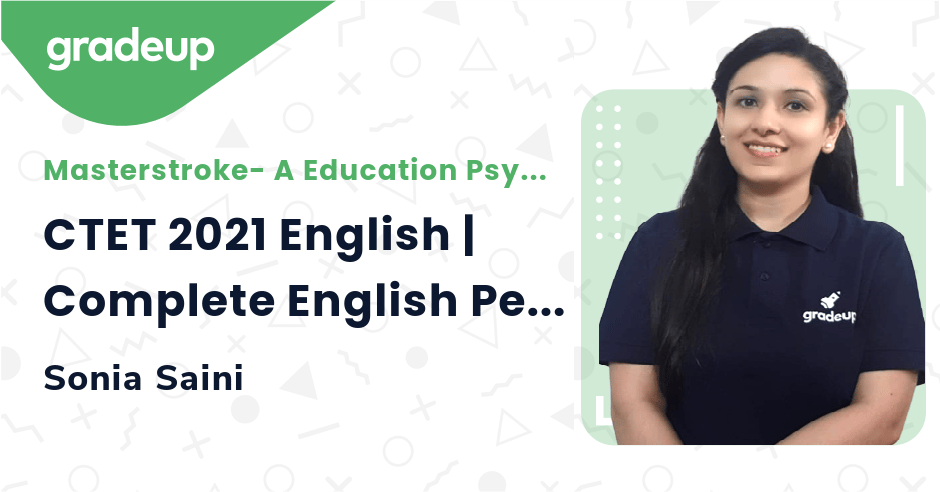 CTET 2021 English | Complete English Pedagogy | in one class