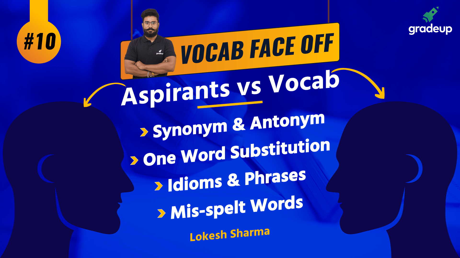 Vocab Faceoff - Aspirants Vs Vocab: Class 10