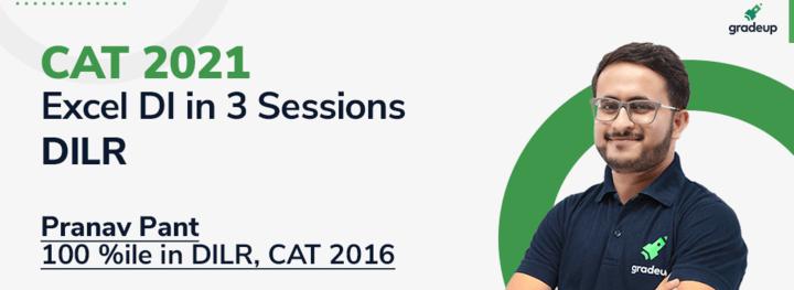 CAT 2021: Excel in DI Basics in 3 Sessions