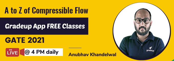 A to Z of Compressible Flow by Anubhav Sir