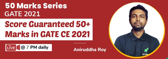 50 Marks Series for GATE 2021 by Aniruddha Sir