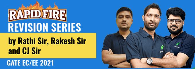 Rapid Fire Revision Series by Rathi Sir, Rakesh Sir and CJ Sir