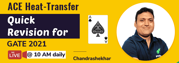 Heat Transfer: Quick Revision with Best Tips & Tricks by Chandrashekhar Sir