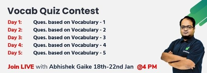 Vocab Quiz Contest
