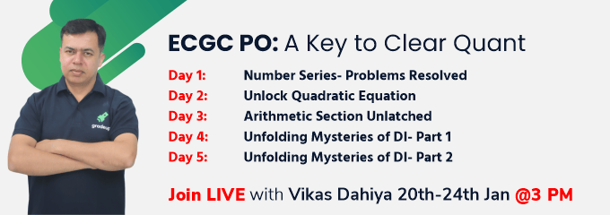 ECGC PO: A Key to Clear Quant