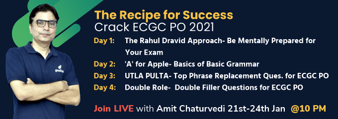 The Recipe of Success for ECGC PO