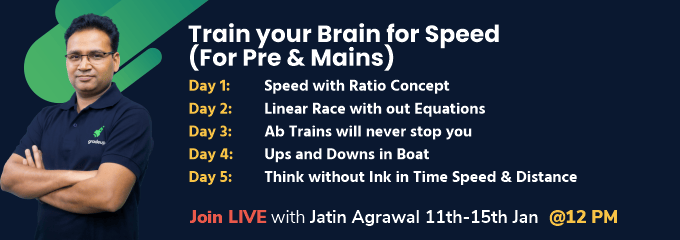 Train your Brain for Speed (For Pre & Mains)