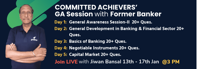 """COMMITTED ACHIEVERS' GA SESSION WITH FORMER BANKER"