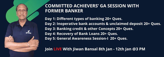 COMMITTED ACHIEVERS' GA SESSION WITH FORMER BANKER