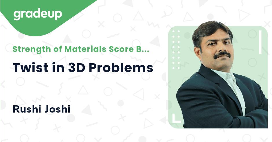 Twist in 3D Problems