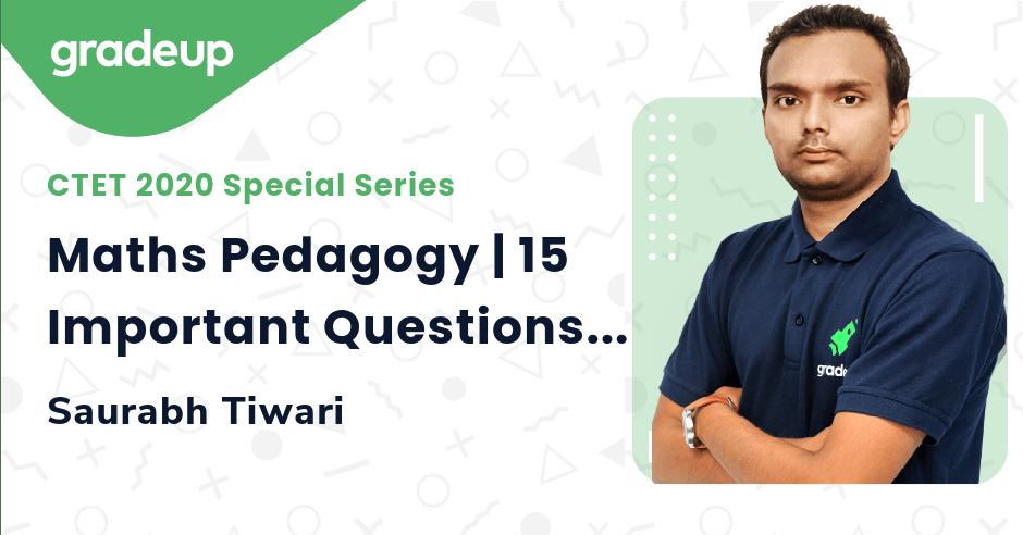 Maths Pedagogy | 15 Important Questions Part-7