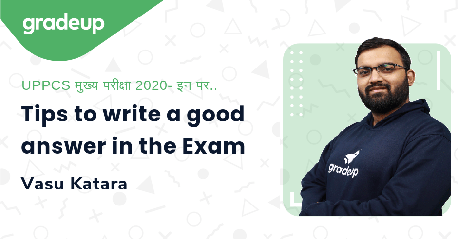 Live Class: Tips to write a good answer in the Exam