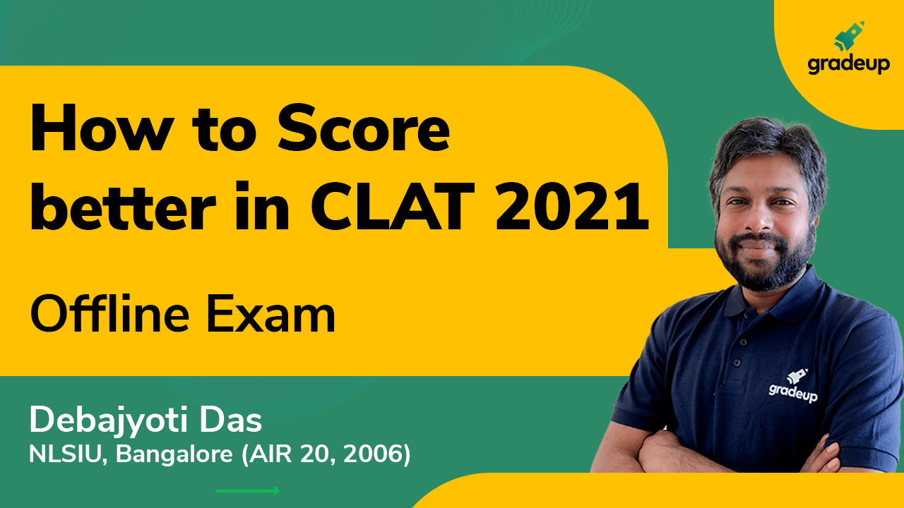 CLAT 2021   How to adapt to the offline pen and paper exam