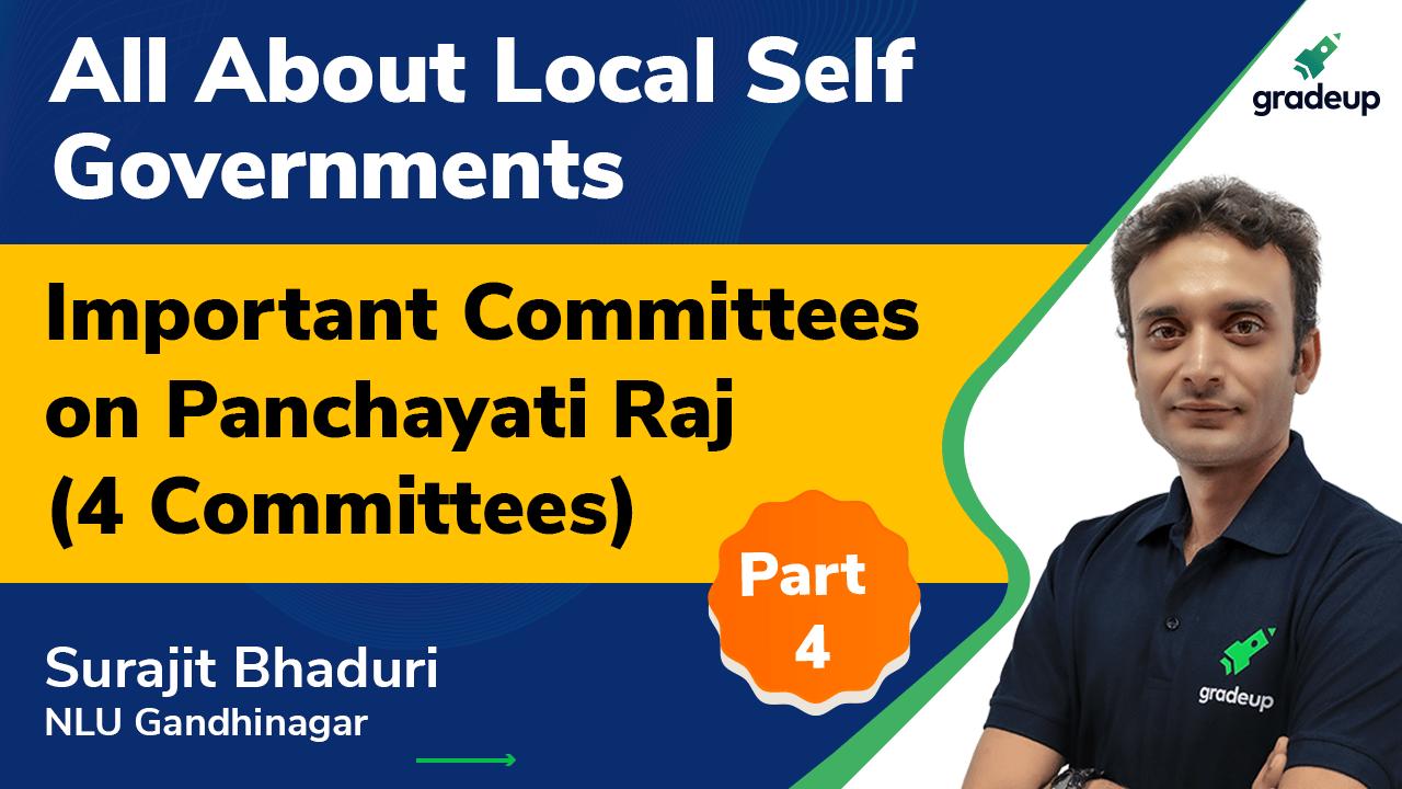 Panchayati Raj Institutions and Participative Democracy Part - 4