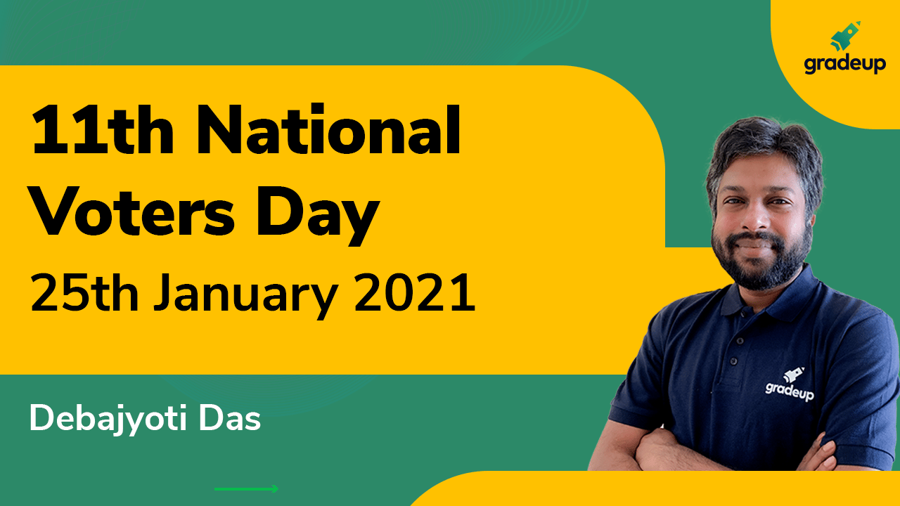 National Voters Day 2021   25th January   Why we celebrate National Voters Day?