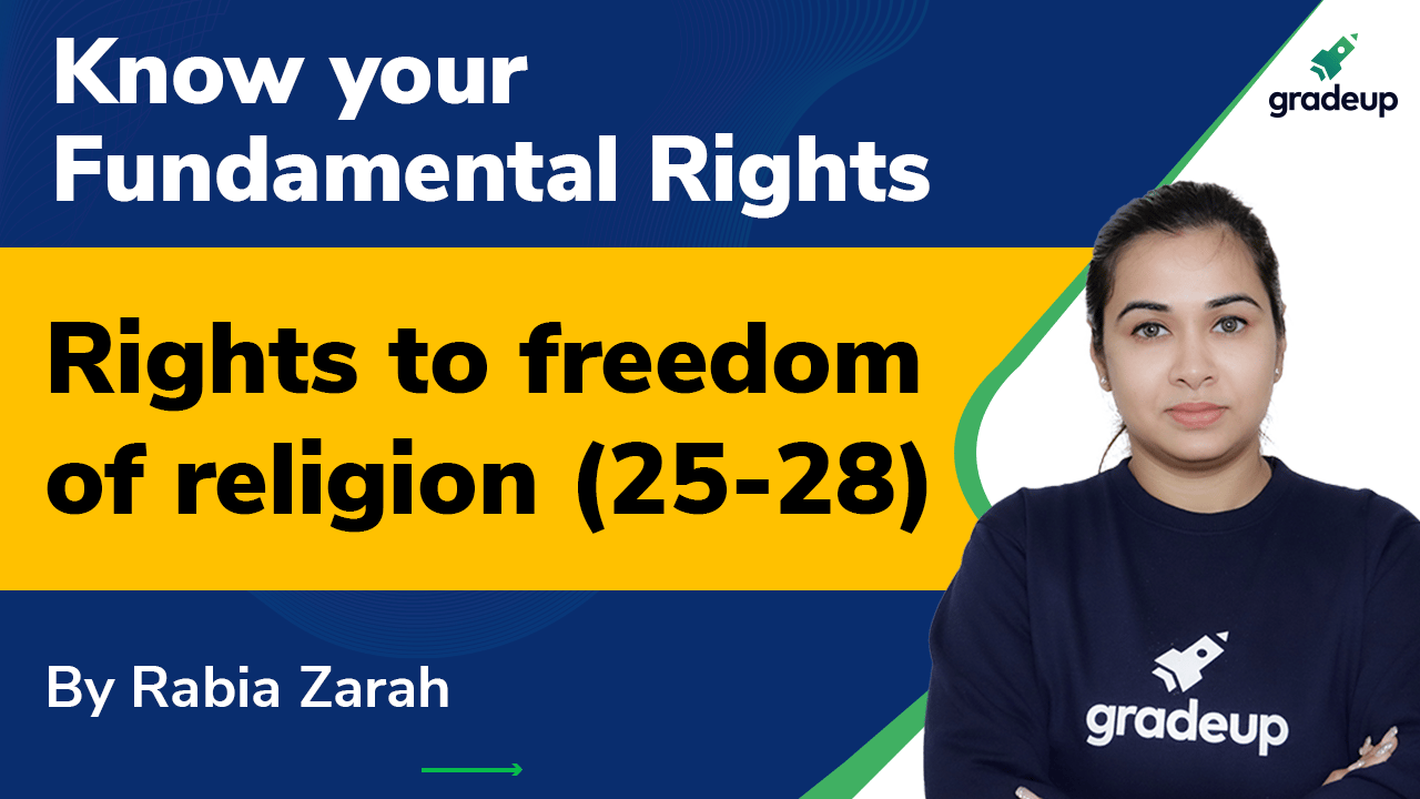 Rights to freedom of religion (25-28)