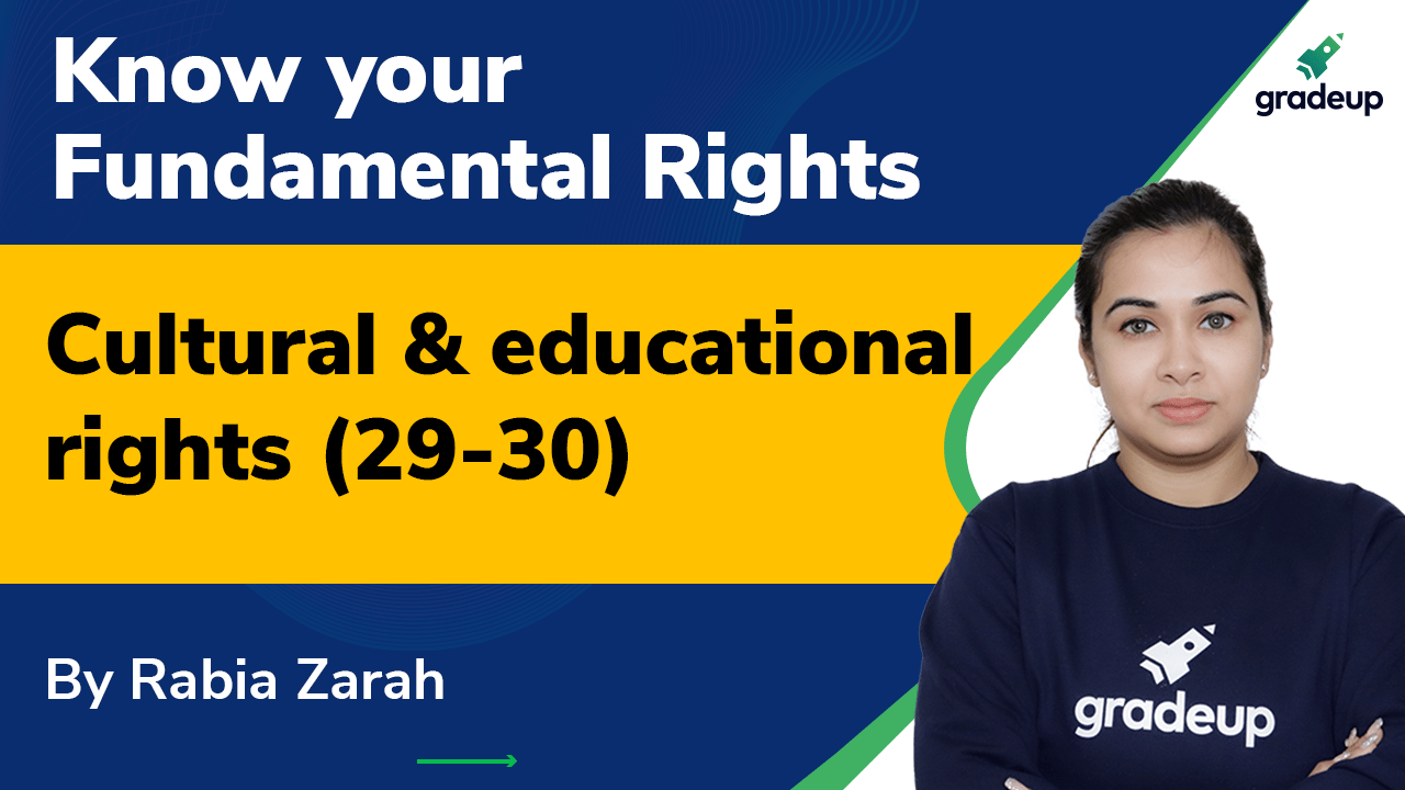 Cultural and educational rights (29-30):